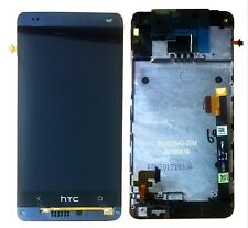 Genuine HTC One Mini 4 Full LCD Display Touch Screen Digitizer Frame white