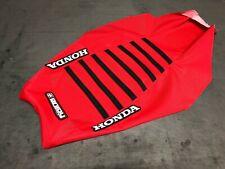 Honda TRX450R TRX 450 R Seat Cover 2004 - 2018  Red/Black Ribs by Enjoy Mfg #197