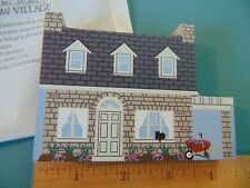 Fj Designs Cat's Meow Village 1997 Collector's Club Edition, Accessory Playhouse