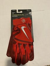 Nike Huarache Elite Red Baseball Batting Gloves GB0448-657 Men's Size: XXL