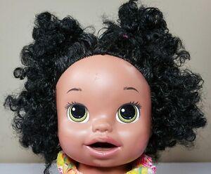 Baby Alive Doll Soft Face Interactive Talks Black Hispanic Ethnic Hasbro 2014