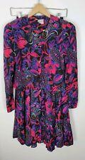 (#9) Vintage Jeffery And Dara By Linda Hutley Size 7/8 Jacket Skirt Pink Purple