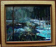 """Folke Sjöberg * 1930, """"primavera ingorghi meteo in svensbyan"""", verso datato 1968"""