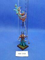 Warhammer Fantasy - Chaos - Army Standard Bearer of Tzeentch Painted - WF143