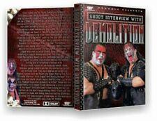 Demolition Shoot DVD WWE WWF WCW Ax Smash Road Warriors LOD Hogan Savage Flair