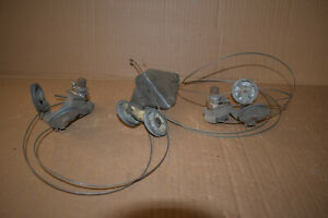 1958 EDSEL CITATION PACER RANGER CORSAIR WINDSHIELD WIPER MECHANISMS & CABLES 3