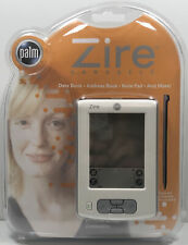 Palm Zire Handheld (2 Mb, Palm Os v4.1) / New Date Book Address Book Note Pad