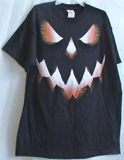 Halloween T-shirt Jack O'Lantern Pumpkin scary Spooky Funny Men's Med (38-40)