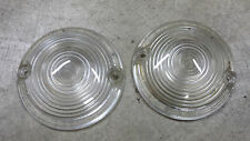 HARLEY DAVIDSON STOCK EARLY STYLE CLEAR TURN SIGNAL LENS