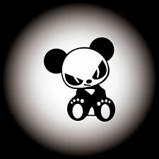 JDM Evil Panda Auto Aufkleber Sticker Decal JDM OEM DUB Shocker 9,0 x 10,6 cm