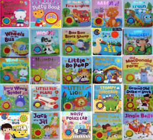 Noisy Sound Interactive Sensory Books Baby Toddler Kids Age 0|1|2|3 Years - SEN