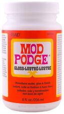 Mod Podge Gloss 8oz Decoupage Sealer Glue & Finish Waterbased Plaid