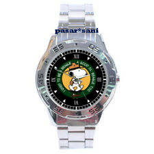 NEW BEAGLE WOOD BADGE SCOUT SNOOPY CARTOONS Custom Men Wrist Watch Mens Watches