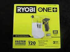 Ryobi 18v Battery Operated Compact Handheld Sprayer Tool Only Psp01b New In Box