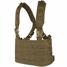 Condor Coyote Brown MCR4 OPS Modular MOLLE PALS Tactical Adjustable Chest Rig