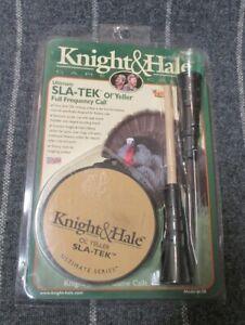Vintage Knight & Hale Ol' Yeller Sla-Tek Ultimate Series Turkey Call & Striker