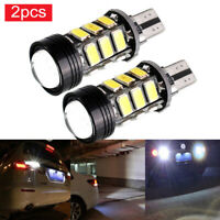 2x Xenon White No Error Canbus T15 W16W 5630 COB 15-LED Backup Reverse Light sq