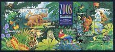 1994 Zoo's Endangered Species Muh Mini Sheet - StampShow Melbourne OverPrint