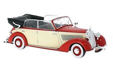 Mercedes 230 W153 Cabriolet Rouge/Beige 1939  Whitebox 1/43