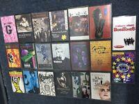 80s 90s Cassette Tape Lot Depeche Mode Bowie Madonna Morrissey GnR Stones Prince