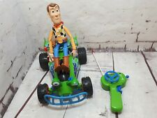 Toy Story Remote radio Control RC car with woody