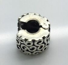 Authentic Pandora Sterling Silver Swirl Serpentine Clip 790338 925 ALE