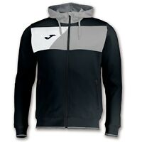 GIACCA PER TUTA JOMA Hooded Jacket CREW II MEN 100615 Tracksuit Top Black