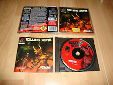 KILLING ZONE BY NAXAT SOFT FOR PLAY STATION 1 PS1 USADO COMPLETO