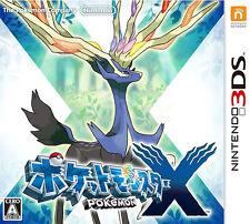 Pocket Monsters X (Nintendo 3DS, 2013) - Japanese Version
