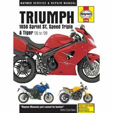 Haynes Manual 4796 Triumph 1050 ST, Speed Triple & Tiger 05-09