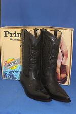 Prime Boots  cowboystiefel westernstiefel neu  handmade cowboyboots gr. 40 black