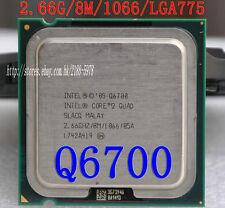 Intel Core 2 Quad Q6700 2.66 GHz Procesador de Cuatro Núcleos Socket 775 CPU