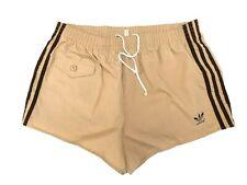 Adidas vintage Badeshorts Gr. 7 L Sporthose 80s shiny Swim Shorts FS3