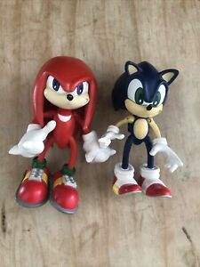 1999 Sonic Adventure Sonic, Knuckles, Action Figure Toy