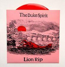 THE DUKE SPIRIT - LION RIP * 7 INCH RED VINYL * MINT COND * RARE * FREE P&P UK