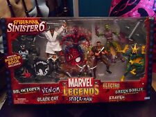 Marvel Legends Spider-Man vs Sinister Six Boxset Venom Green Goblin Doc Ock Cat