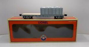 Lionel 6-27706 Santa Fe Idler Flatcar with Load LN/Box