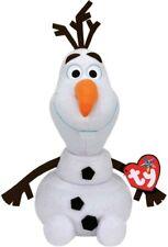 Peluche Frozen 2 Olaf con Suono TY Disney Elsa Glitter Original 30cm Parlante