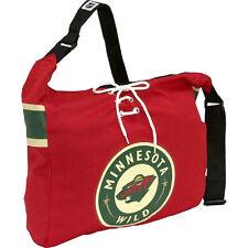 Minnesota Wild NHL MVP Veteran Jersey Messenger Tote Bag Purse Case Littlearth
