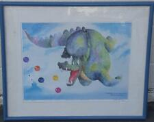 Limited Edition Rodecker Print 1987 Collector Of Lost Balloons Five 169 / 1000