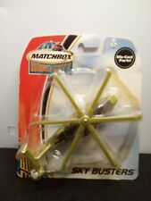 MATCHBOX HERO CITY SKY BUSTERS GREEN MILITARY HELICOPTER 2003 NEW. DIE CAST