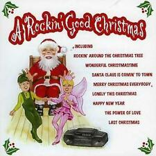 a Rockin' Good Christmas Various CD 16 Track Compilation Featuring Covers of Chr