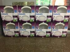 Lot of 8 Philips LED 60W/9W myLiving 6in Retrofit Recessed Downlight Dimmable