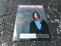 NOV 1985 AMERICAN FILM early movie magazine - ALLY SHEEDY