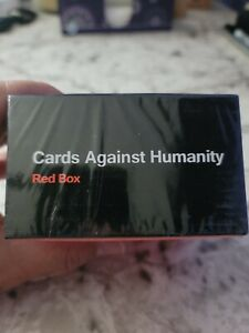 Cards Against Humanity Red Box NEW UNOPENED 300 Cards party games adult games