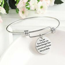 Mothers Day Gifts Gift For Mother Bracelet Daughter Inspirational Wish Brand New