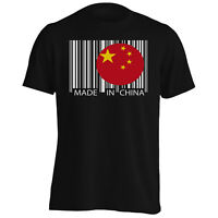 Made in China Travel World Funny Novelty Men's T-Shirt/Tank Top uu41m
