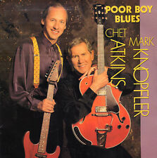 "MARK KNOPFLER &  CHET ATKINS ‎– Poor Boy Blues (1990 VINYL SINGLE 7"" HOLLAND)"