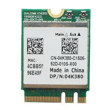Atheros QCNFA222 AR5BWB222 802.11a/b/g/n 2.4/5GHz BT4.0 WIFI WLAN Card 4K380 M.2