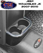 Jeep Wrangler Chrome Rear Cup Holder Trim  2007-2010 11156.18 Rugged Ridge